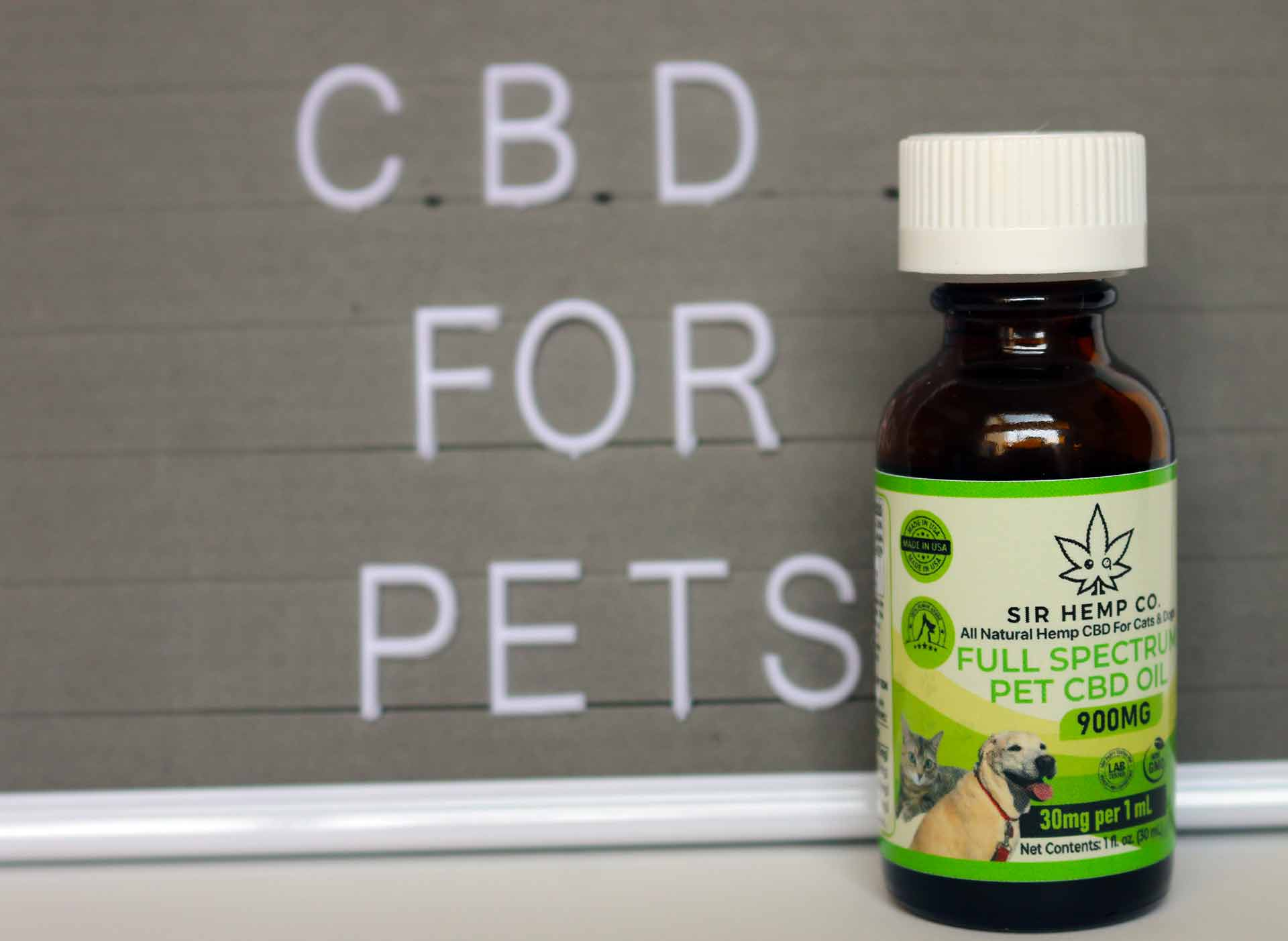 CBD for Pets Sir Hemp